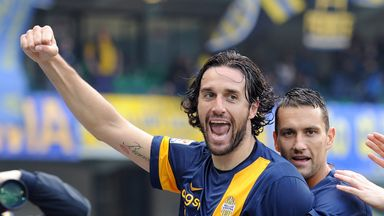 Luca Toni: The veteran striker has been capped 47 times by Italy and helped his country win the 2006 World Cup.
