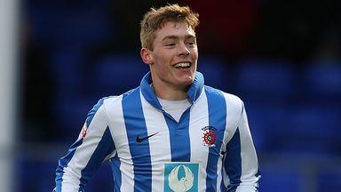 Luke James: Has signed new Hartlepool deal