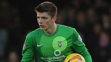 Nick Pope: back at Bootham Crescent