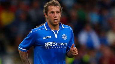 Stevie May: Threat to Celtic's record