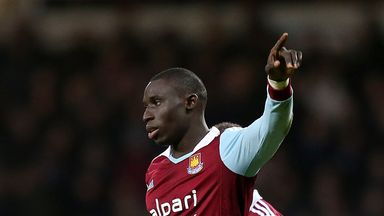 Mohamed Diame: West Ham midfielder enjoying Premier League life