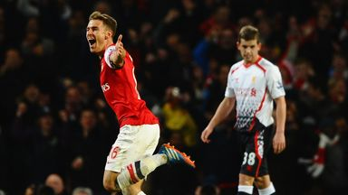 Aaron Ramsey: Arsenal midfielder could return against Everton