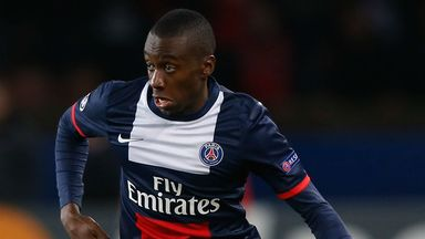 Blaise Matuidi: PSG midfielder has signed a four-year extension