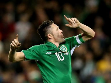 Robbie Keane: Feeling good about the future