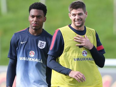 Sturridge: Backed by Gerrard to be a World Cup star