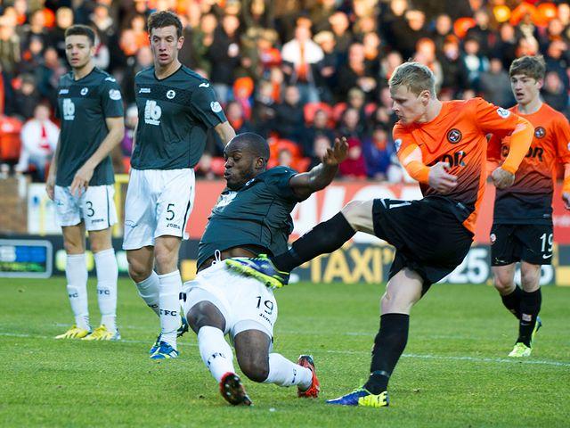 Dundee United's Gary Mackay-Steven shoots