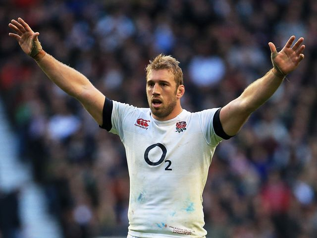 Chris Robshaw: Led England to victory over Australia