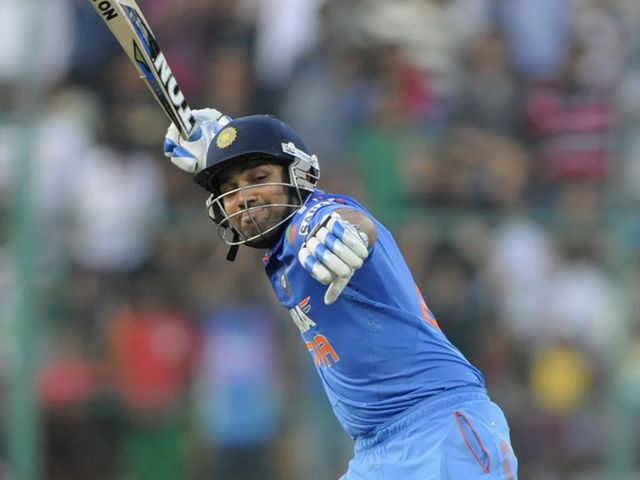 Rohit Sharma: Smashed a superb double-century