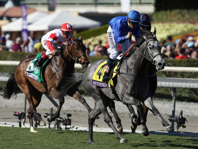 Outstrip Sizzles For Godolphin Race Report 21 25 Santa