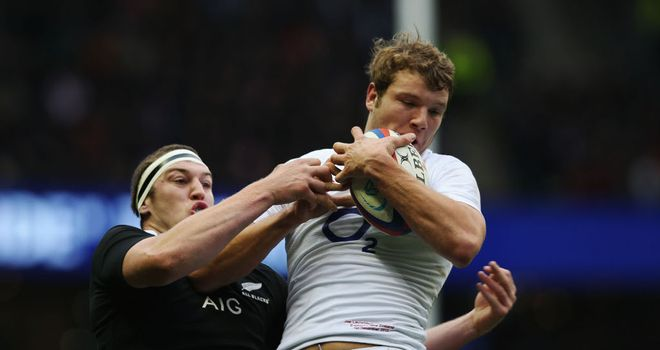 Joe Launchbury: Played in England's 38-21 win over New Zealand in 2012