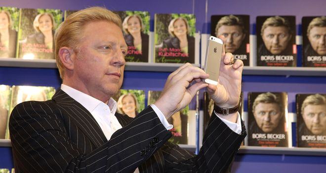 Becker: part of Sky Sports' punditry line-up at the O2 Arena