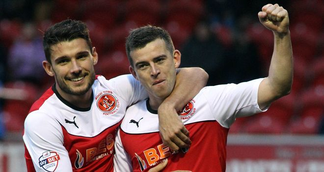 Steven Schumacher and Gareth Evans: Combined for goal
