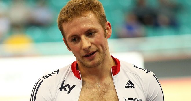 Jason Kenny was knocked out of the men's sprint in qualifying