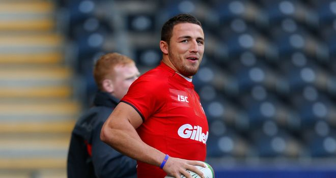 Sam Burgess: Unconcerned about press reports in Australia