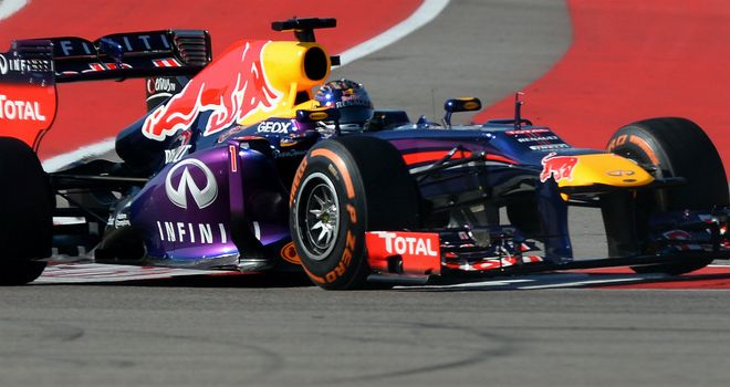 Sebastian Vettel: Back at the forefront in Practice Two