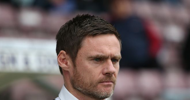 Graham Alexander: Relishing League One challenge