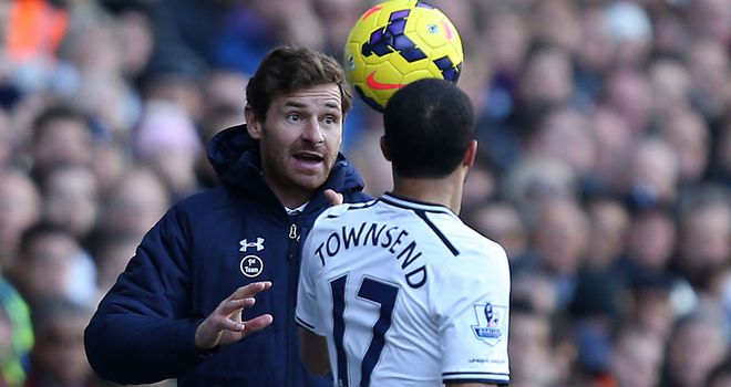 Andre Villas-Boas: Tottenham have scored just 34 goals in 25 home league games