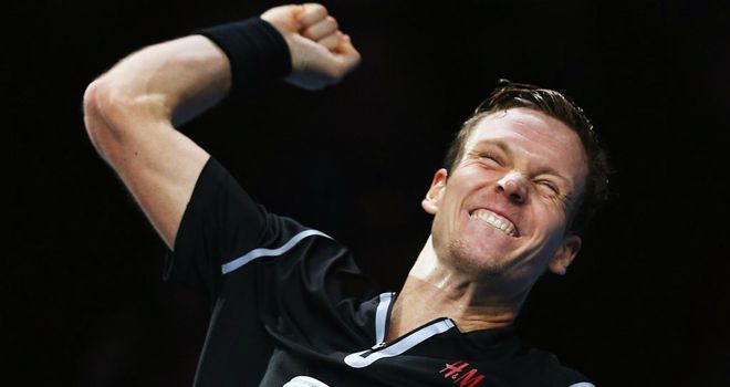 Berdych delighted to get a win under his belt