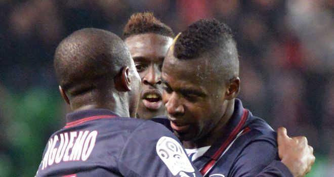 Cheick Diabate was on target for Bordeaux