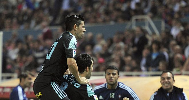 Celta Vigo were celebrating on Saturday night