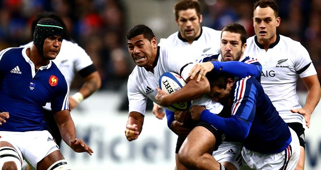 Piutau: impressed in Paris