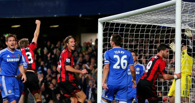 Chelsea salvaged a 2-2 draw at home to West Brom after a controversial finish