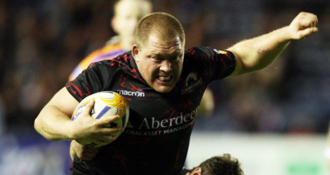 WP Nel: crossed for Edinburgh