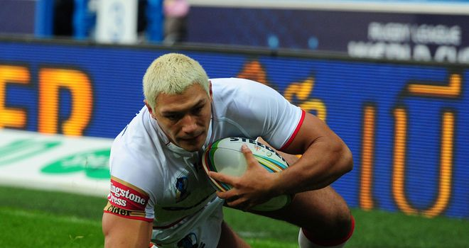 Ryan Hall: Has scored 17 tries for England