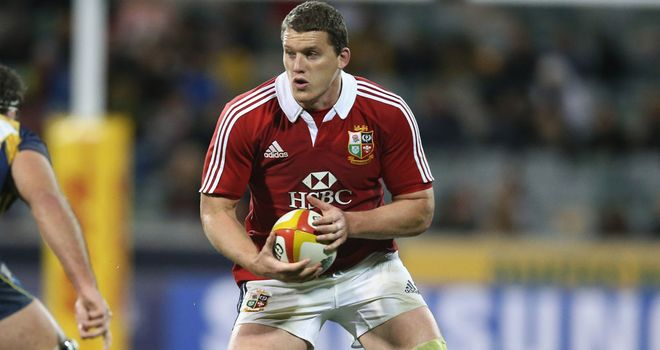 Ian Evans, on Lions duty, is apparently wanted by Heineken Cup champions Toulon