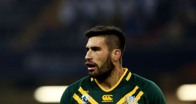 James Tamou: wary of physical Fijians at Wembley