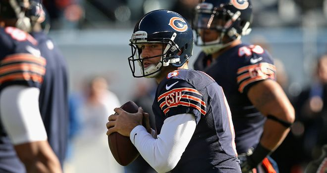 Jay Cutler: Has set several franchise records for the Bears