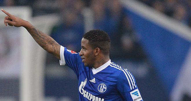 Jefferson Farfan helped Schalke claim victory