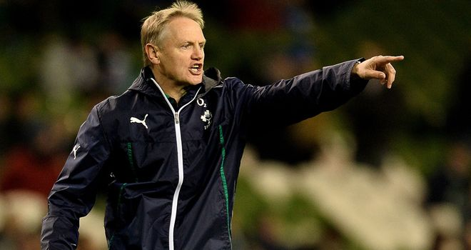 Joe Schmidt: Won his first game in charge of Ireland