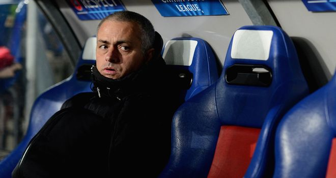 Jose Mourinho: Seemed to keep the handbrake on his players in Switzerland and that led to defeat