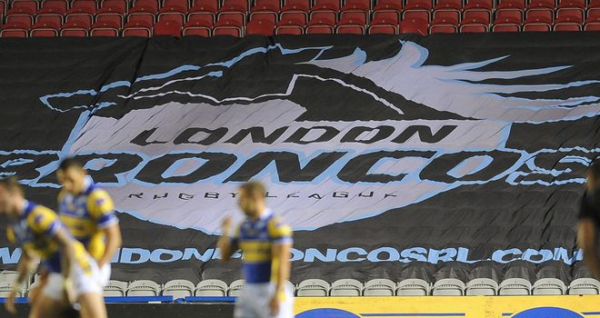 London Broncos: No longer find themselves at the Twickenham Stoop