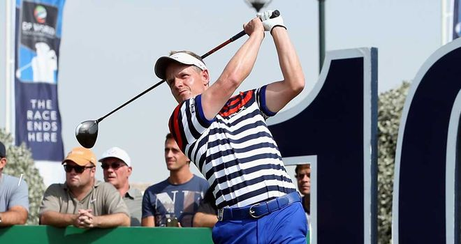 Luke Donald: Slow players setting a bad example