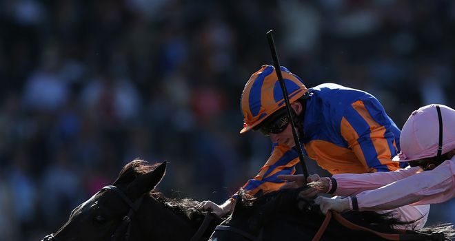 Magician overhauls The Fugue in a thrilling Breeders' Cup Turf