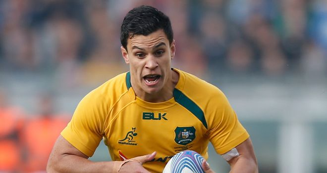 Matt Toomua: Suffered hamstring strain in training