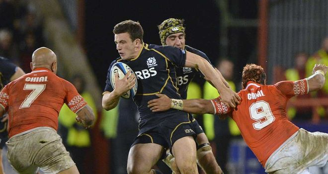 Matt Scott: Still haunted by last year's defeat to Tonga in Aberdeen