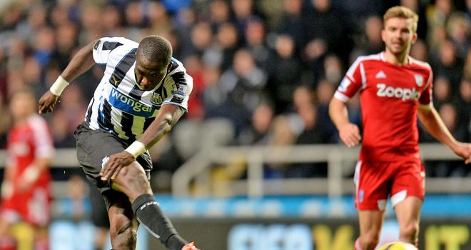 Moussa Sissoko scores a stunner to lift Newcastle into fifth in the table