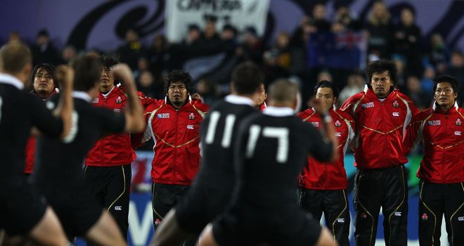 Japan face a daunting task against the world champions