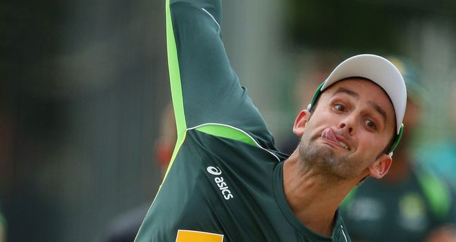 Nathan Lyon is looking forward to taking on the England batsmen