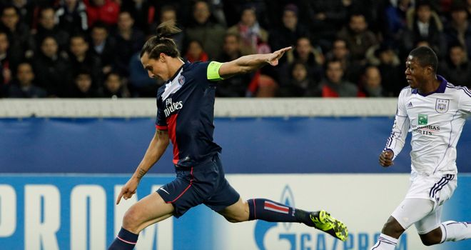 Zlatan Ibrahimovic: Amongst the goals again
