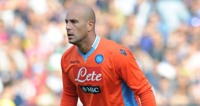 Pepe Reina: Will see out the season on loan at Napoli