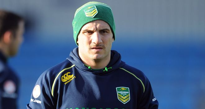 Robbie Farah: Has been left out of the Australia squad for the quarter-final clash with the USA
