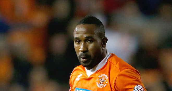 Ricardo Fuller: Hit the winner for Blackpool