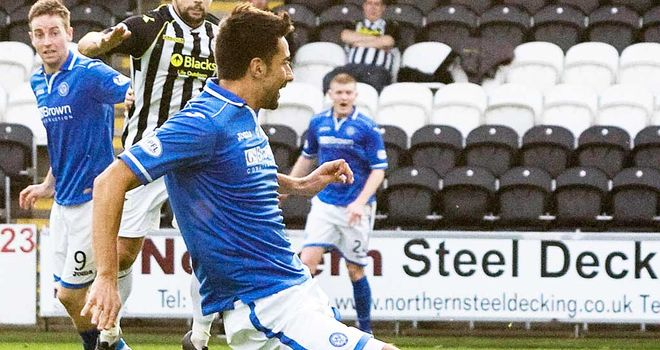 Rory Fallon: St Johnstone striker is on international duty with New Zealand