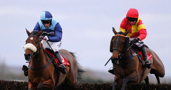 Wonderful Charm: Completed his hat-trick over fences
