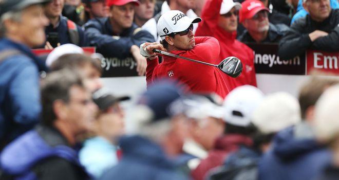 Adam Scott: Holds a two-shot lead in Sydney