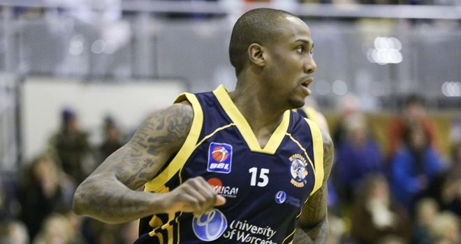 Alex Owumi: Scored 11 points for Worcester Wolves
